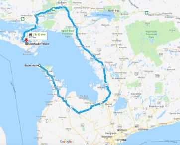 Bruce Peninsula - Tobermory & Manitoulin Island